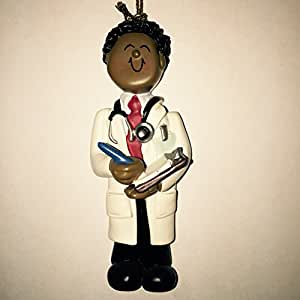 Ornament Central OC-046-MAA African/American Male Doctor Figurine