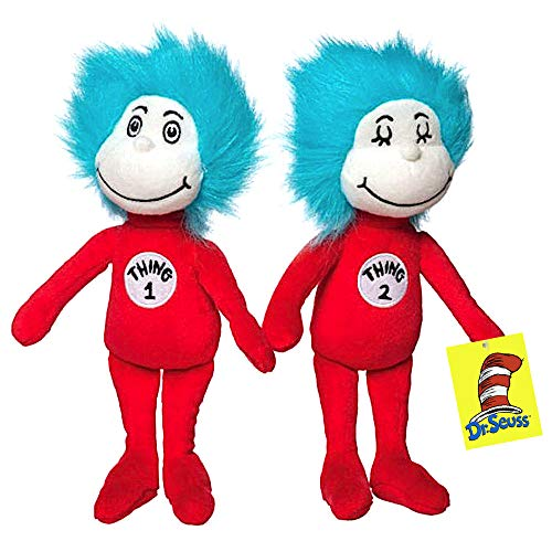 Thing 1 & Thing 2 Plush Figures