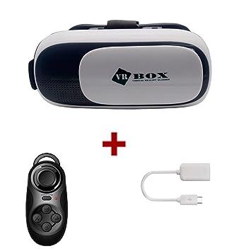 comada 3d VR Realidad Virtual Google cartón VR 4.1 Versión Realidad Virtual para Samsung iPhone 4
