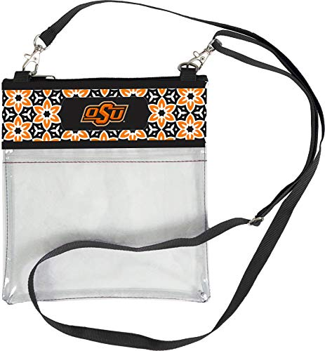 Oklahoma State Tote Bag - Desden Oklahoma State Cowboys Clear Gameday Crossbody Bag