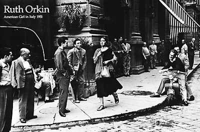 American Girl In Italy, 1951 By Ruth Orkin Best Quality Art Print Poster - Size: 36 X 24