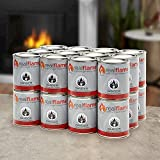 Real Flame 24 Pack of 13 oz Gel Fuel Cans for