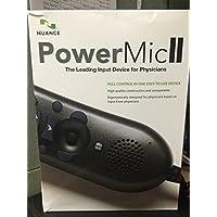 Nuance Medical Edition II Hand Microphone - Powermic II - with Cradle
