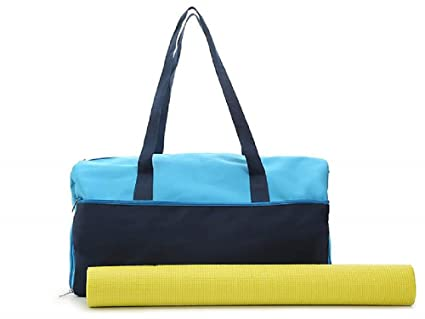 Amazon.com: DSW Workout bolsa With Esterilla de yoga: Sports ...