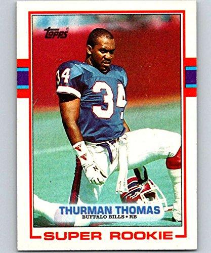 1989 Topps #45 Thurman Thomas RC Rookie Bills NFL Football