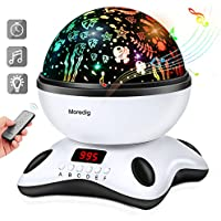 Baby Night Light Star Projector with Timer and Remote for...