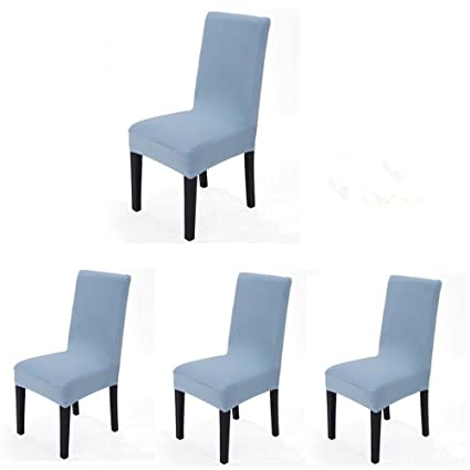 Amazoncom 4 Pieces Spandex Stretch Washable Dining Room Chair