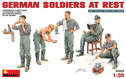 1:35 German Soldiers At Rest Figurines for sale  Delivered anywhere in USA