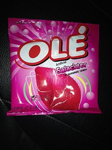 Olé Artificial Salacider Flavoured Candy 56g X 2 Packs By Thaidd