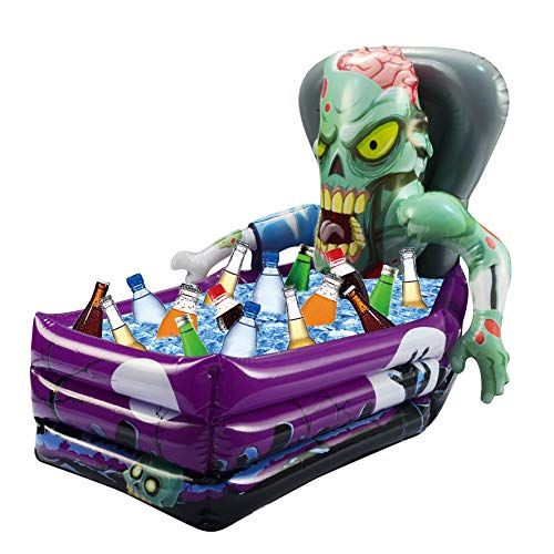 "Price comparison product image Halloween Party Inflatable Zombie Drink Cooler and Decoration (26""x 24""x 38"" Approximate Inflated Size)"