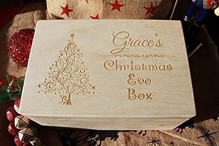 Beautiful Santa's key Christmas Eve Box Believe Magic Gift