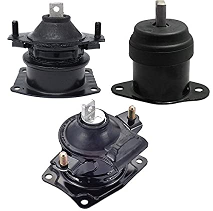 Amazoncom Front Rear Engine Motor Mount Set Of For - 2007 acura tsx engine
