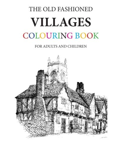 Village Coloring Book - 3