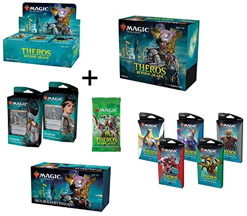 GET IT All!! MTG Magic the Gathering Theros Beyond Death Booster Box, Bundle, Both Planeswalker Decks, Toolkit, 5 Theme-boosters, 1 Collector Pack!
