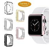 [5-PACK]Apple Watch Case Series 3, UBOLE Scratch-resistant...