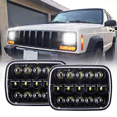 xj jeep headlight conversion - 3