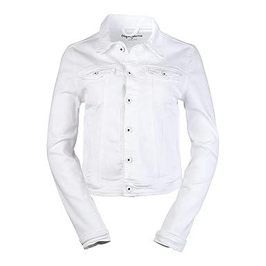 Pepe Jeans Core Jacket - Jeansjacke, Größe Bekleidung L, Farbe White ... 5f59a9717f