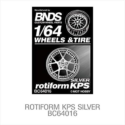 BNDS Wheel Tire Black Treaded Rubber Gold Rim 1//64 scale Custom Model Automotive