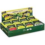 Bigelow Tea Assorted Green Tea Tray Pack - Green Tea - 64 / Box