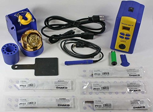 Hakko FX951-66 T15-D08,D12,D24,D32,D52 Soldering Station with Chisel Tip T15-D08/D12/D24/D32/D52, (Best Soldering Station With Chisel Tips)