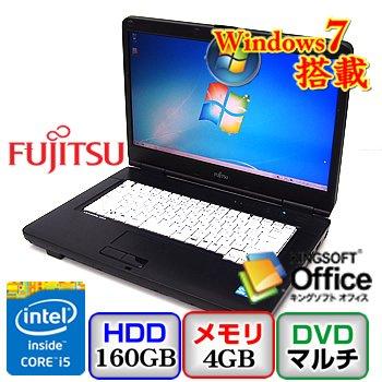 富士通 LIFEBOOK A550 B [FMVNA3BE] -32bit Core i5 2.67GHz 4GB 160GB ハイパー15.6インチ(B0629N036)