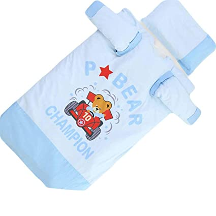 Vicheng Saco de Dormir Infantil, edredón Algodón de Doble Uso Mantener el otoño cálido y