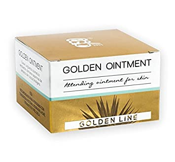 Golden Ointment – deeply moisturizing and healing skin cream with saponins from Yucca Shidigera