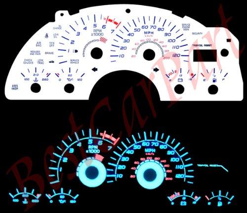 Brand New 99-03 Pontiac Firebird V6 BLUE INDIGLO GAUGES