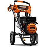 Generac 6921 2,500 PSI, 2.4 GPM, Gas Powered Pressure Washer