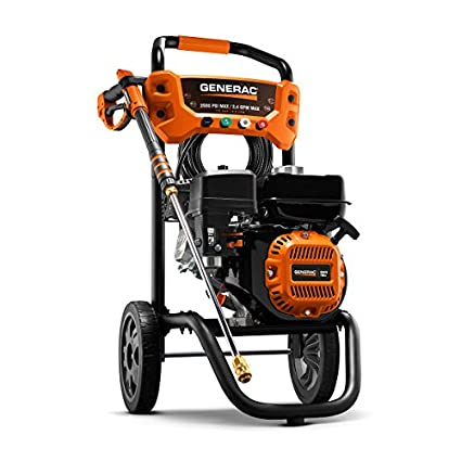 Generac 6921 2,500 PSI, 2 4 GPM, Gas Powered Pressure Washer (Discontinued  by Manufacturer)