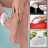 Meflying Pod Ped Egg Pedicure Foot File Callus and Dry Dead Skin Remover Exfoliating Tool