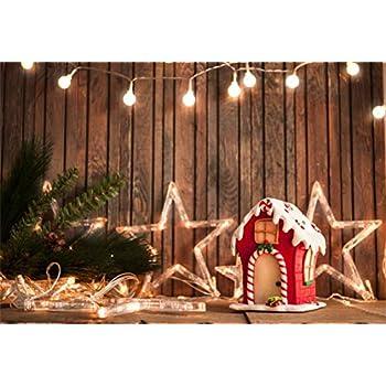 Christmas Xmas Wall Decal Lights Home Decor Gingerbread Home