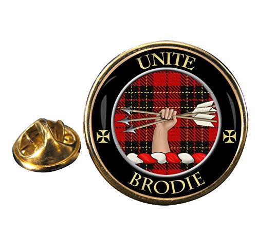 Brodie Scottish Clan Crest Badge in Gift Pouch ()