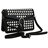 KNUS Fashion Handbags for Women, Designer Cross body Bag Pu Leather Shoulder Bags