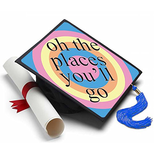 tion Cap Tassel Topper - Decorated Grad Caps - Decorating Kits (Decorate Graduation Caps)