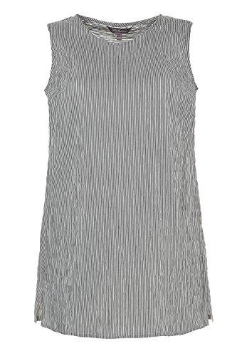 Femme Femme Popken Large Coton Casual Noir Manches Ulla Blouse Tunique Col Haut Shirt Tailles T Printemps Longues Grandes 716256 Top Rond t q4InxxwAS