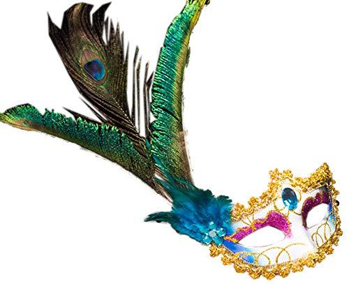 Blancho Bedding Venetian Sexly Masks Masquerade Ball for Women Halloween Mask Mardi Gras Mask Party -