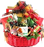 Gift Basket Village Game Day Football Gift Basket, Large