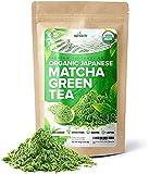 Cheap Organic Japanese Matcha Green Tea Powder – USDA & JAS Organic – Authentic Japanese Origin – Premium Culinary Grade – [100g Value Size]