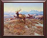 The Exalted Ruler Charles Russell16 X 20 Canvas Framed Print