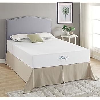 roundhill furniture m0855 blue river gel infused green tea mattress queen kitchen. Black Bedroom Furniture Sets. Home Design Ideas