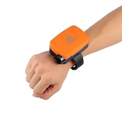 Dispositif de sauvetage d'aide de bracelet d'Anti-Drowning Dispositif flottant de bracelet de sécurité (couleur: noir)