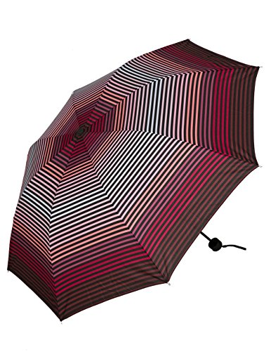 Leslii Regen-Schirm Farb-Verlauf Rot | Damen-Schirm Mode-Accessoire | Ø 96cm 380214369
