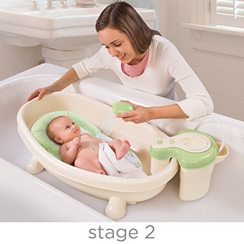 012914083109 - Summer Infant Soothing Spa and Shower Baby Bath carousel main 2