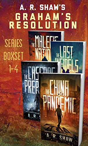 Graham's Resolution Series Boxset: Books 1-4 An Unputdownable Post-Apocalyptic Medical Techno Thriller Series by [Shaw, A. R.]