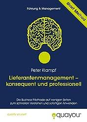 Lieferantenmanagement - konsequent und professionell