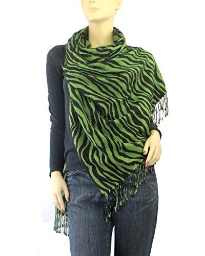 Zebra Silk Accessories Green - 4