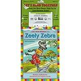 Zeely Zebra Book & Cass