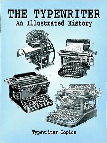 typewriter history