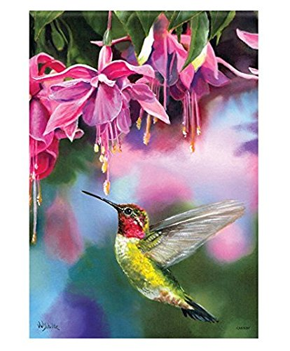 Carson Home Accents FlagTrends Classic Garden Flag, Fanciful Flight ()